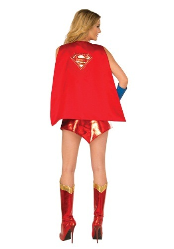 Click Here to buy Deluxe Supergirl Cape from HalloweenCostumes, USA Funds & Shipping