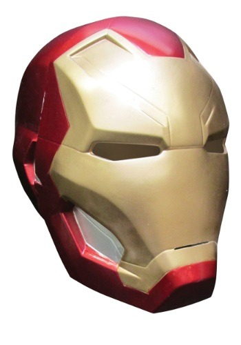 Click Here to buy Kids Civil War Iron Man 2-Piece Mask from HalloweenCostumes, USA Funds & Shipping