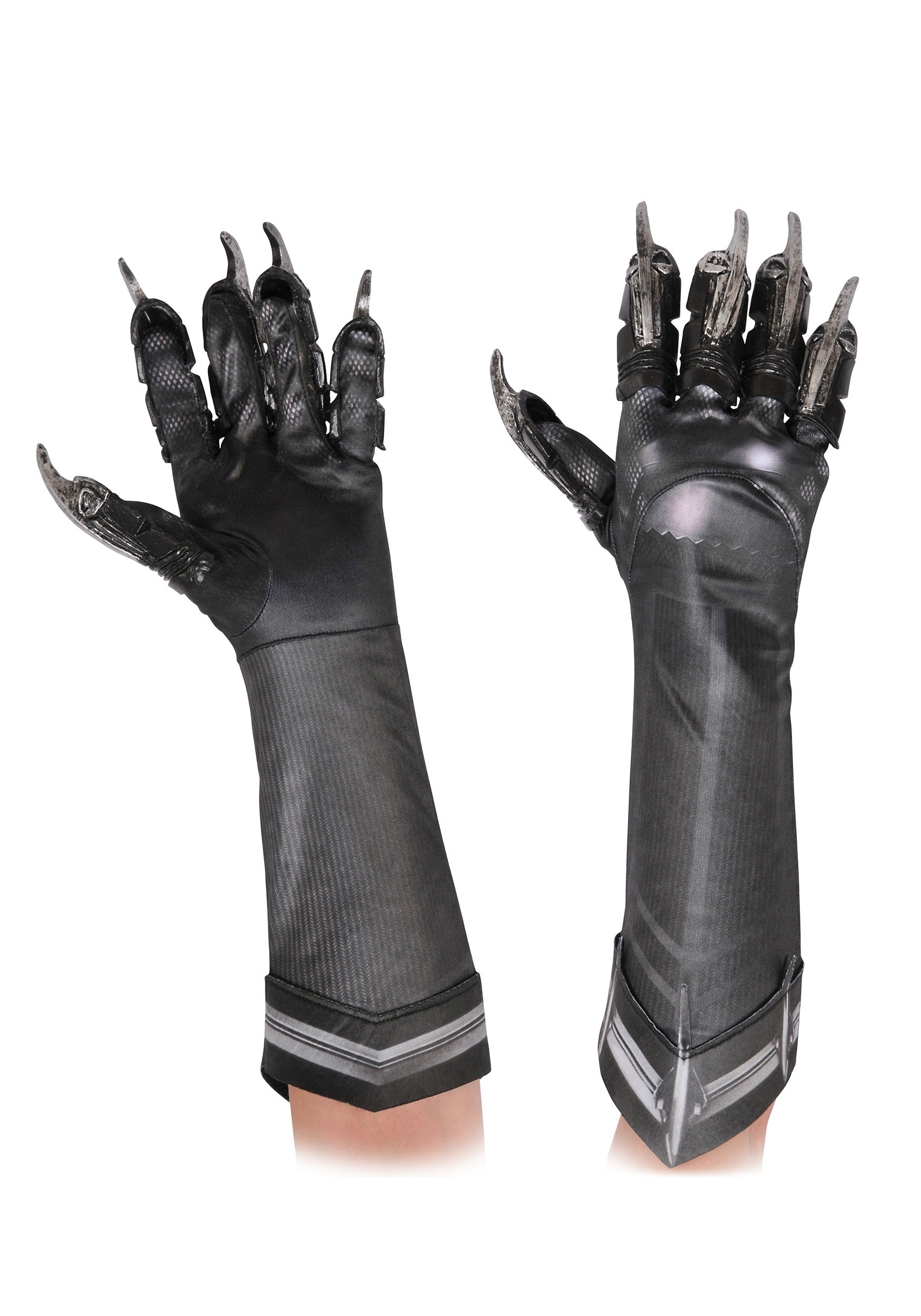Black Panther Deluxe Child Gloves RU32628