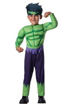 Toddler Deluxe Hulk Costume  sc 1 st  Halloween Costumes & Incredible Hulk Costumes - HalloweenCostumes.com