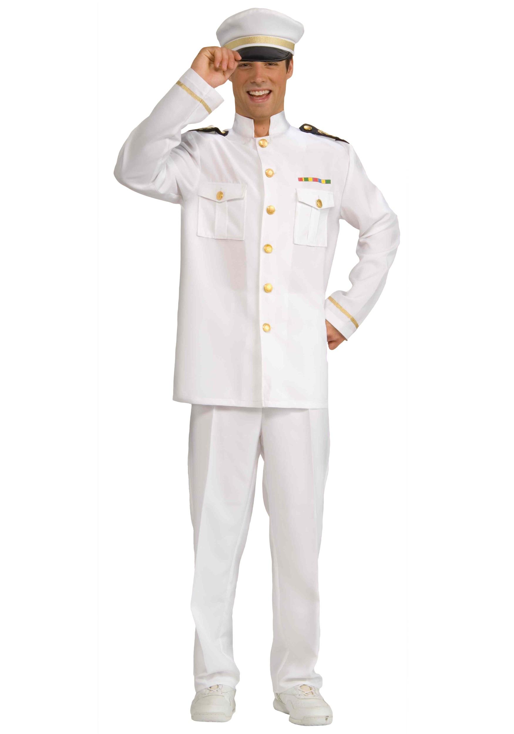 sc 1 st  Halloween Costumes & Mens Cruise Captain Costume