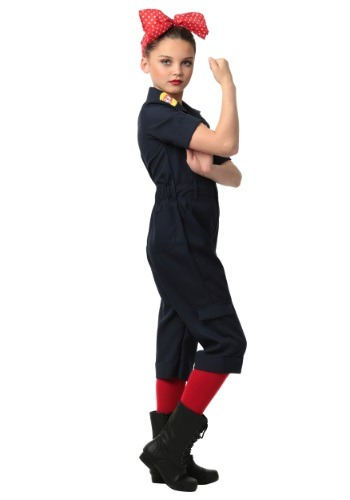 Click Here to buy Kids Hardworking Lady Costume from HalloweenCostumes, USA Funds & Shipping