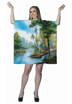 Adult Bob Ross Painting Dress