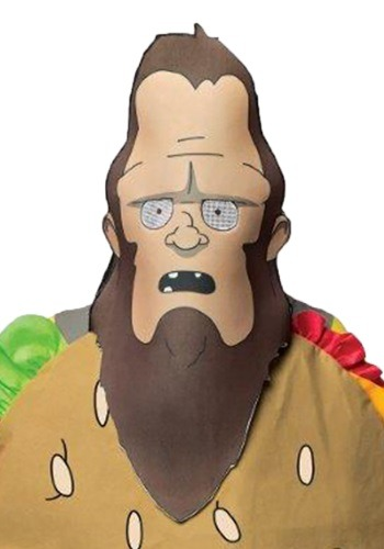 Adult Bob's Burgers Beefsquatch Mask