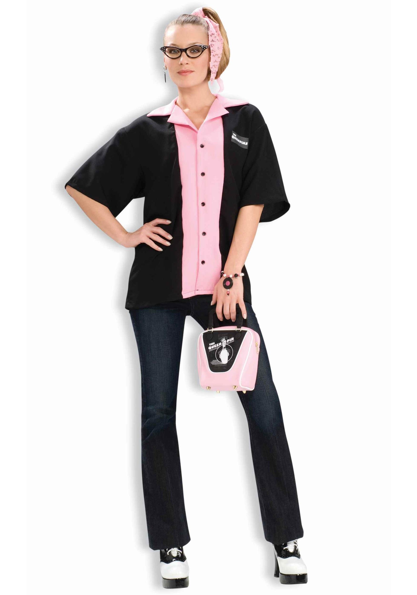 sc 1 st  Halloween Costumes & Queen Pins Bowling Shirt