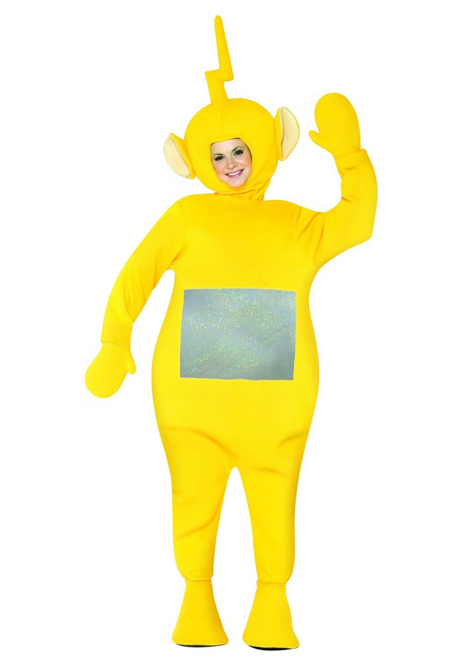 teletubbies laa laa adult costume