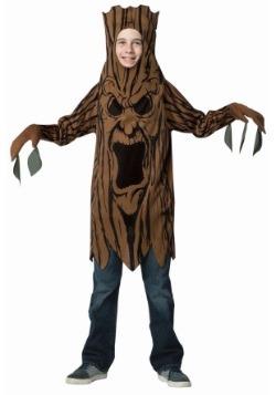Scary Tree Child Costume