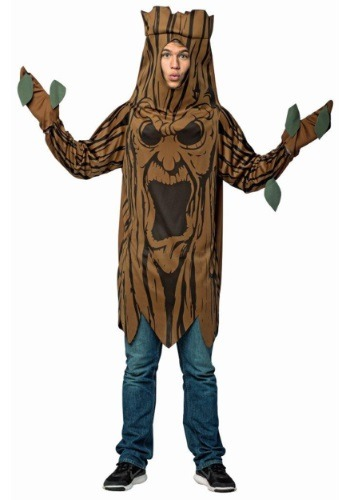 Click Here to buy Scary Tree Adult Costume from HalloweenCostumes, USA Funds & Shipping