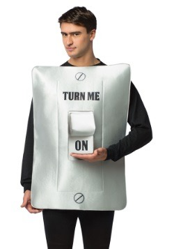 Turn Me On/Off Light Switch Costume