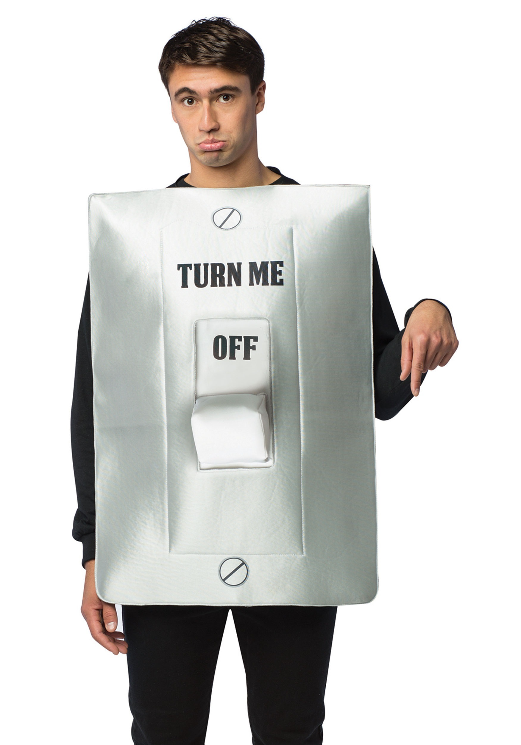sc 1 st  Halloween Costumes & Turn Me On/Off Light Switch Costume