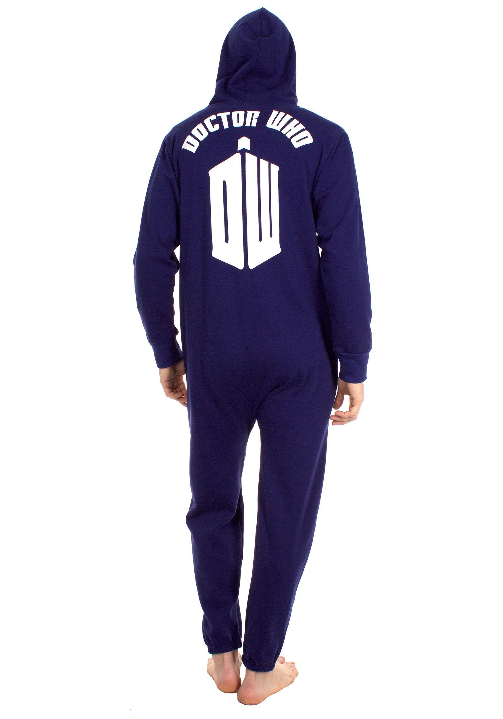 7b44e216e85f Doctor Who TARDIS Onesie Pajama Costume