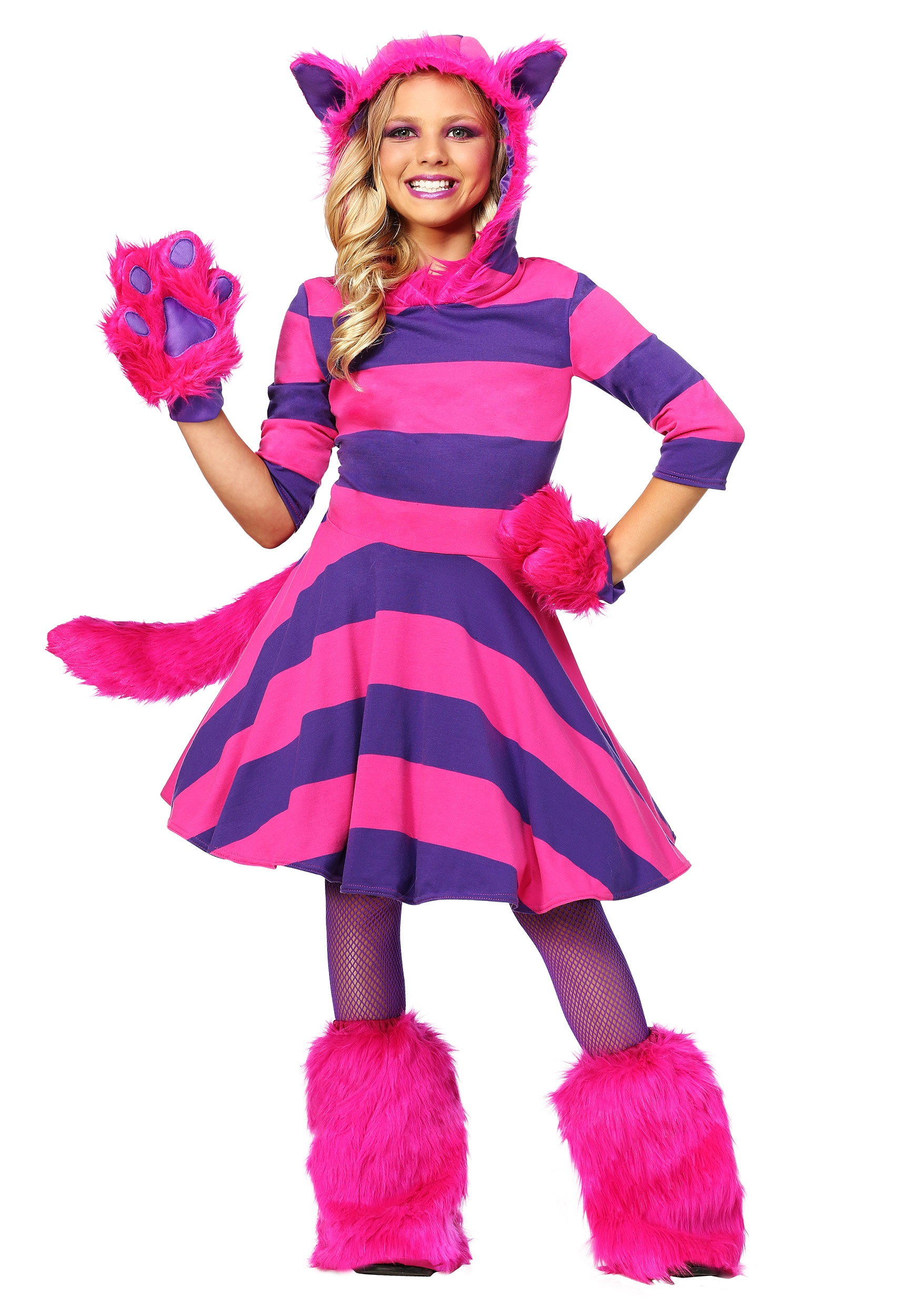 Cheshire Cat Girls Costume  sc 1 st  Halloween Costumes & Cheshire Cat Costume for Girls