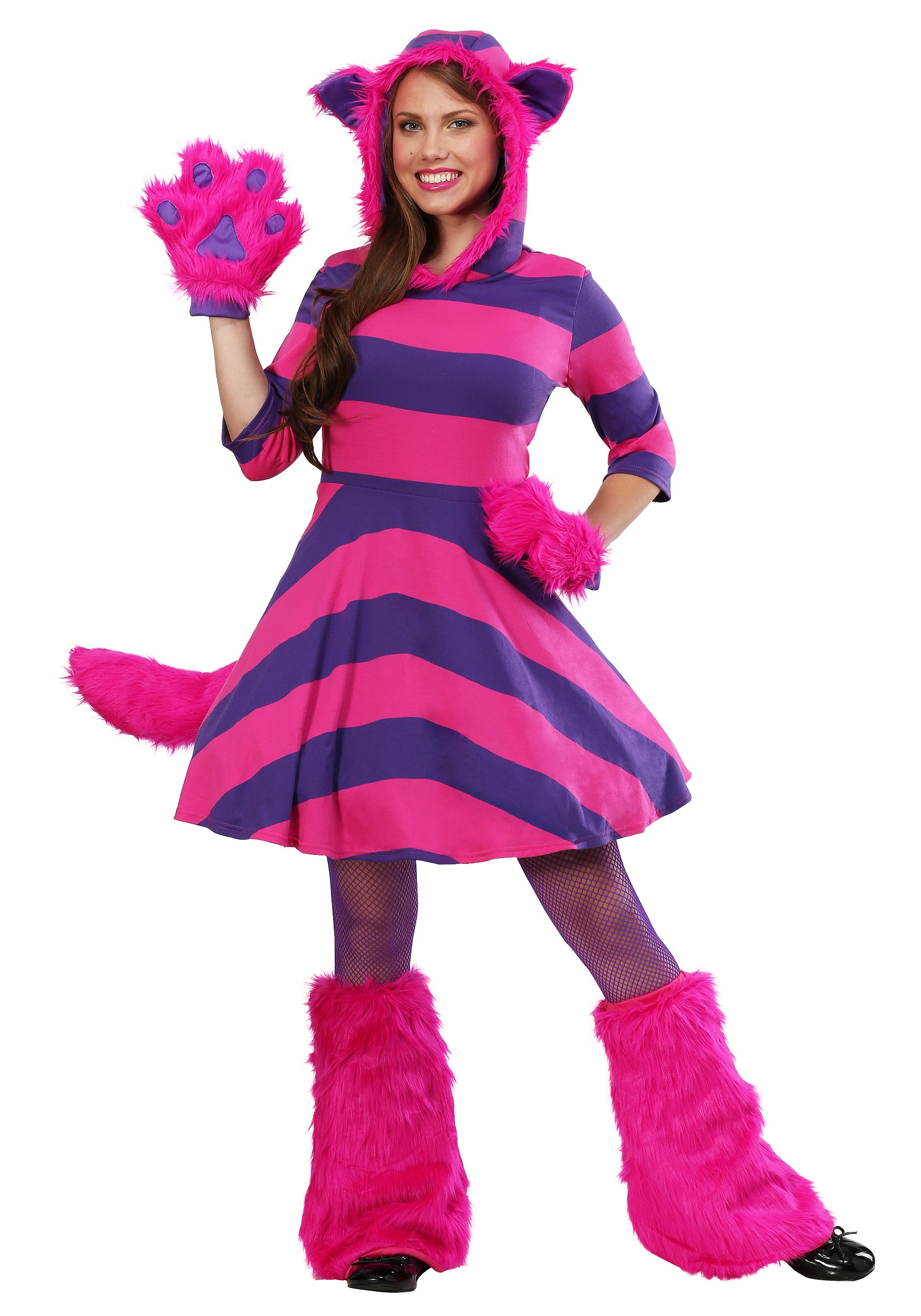 Cheshire Cat Plus Size Womens Costume  sc 1 st  Halloween Costumes & Plus Size Womenu0027s Costumes - Plus Size Halloween Costumes for Women
