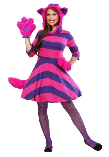 Cheshire Cat Plus Size Costume for Women