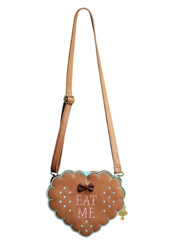 Alice In Wonderland Eat Me Cross Body Purse