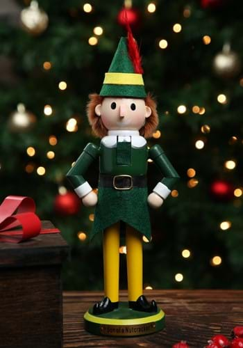 11 Inch Wooden Buddy the Elf Nutcracker_Update