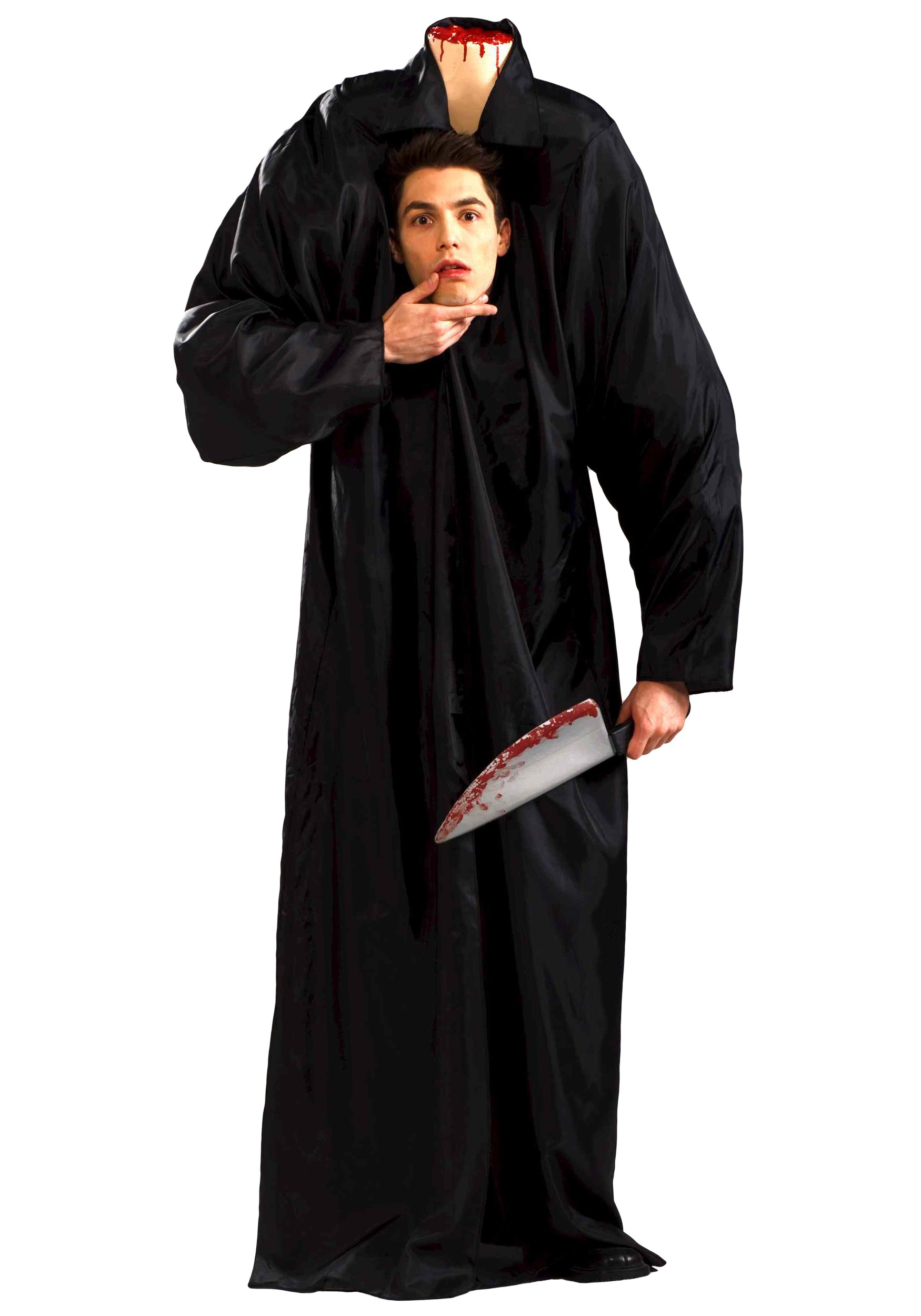 Adult Headless Man Costume. Product Includes; Description