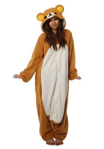 Adult Rilakkuma Kigurumi Pajama Costume