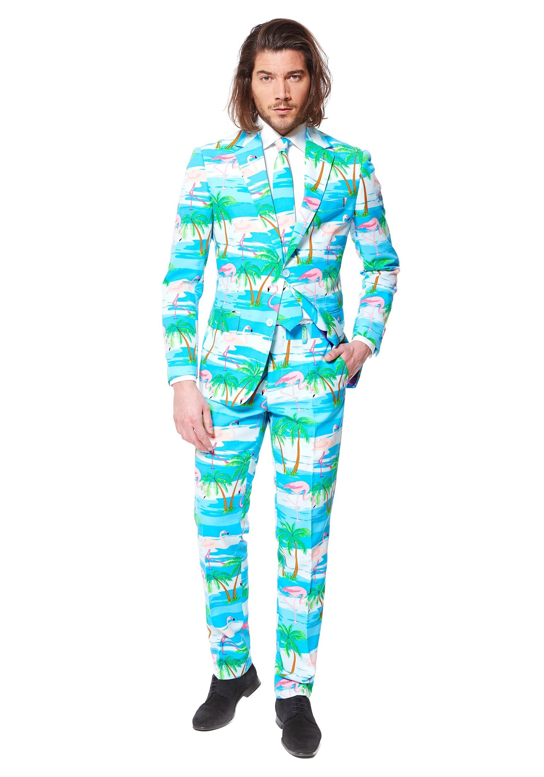 Men\'s OppoSuits Flamingo Suit