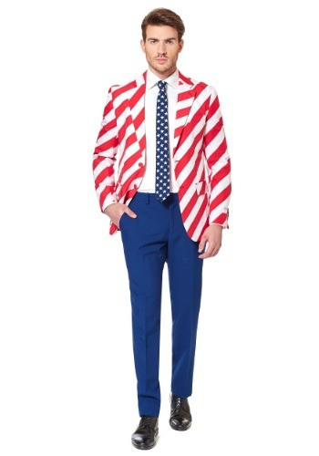 Men's OppoSuits United Stripes Suit