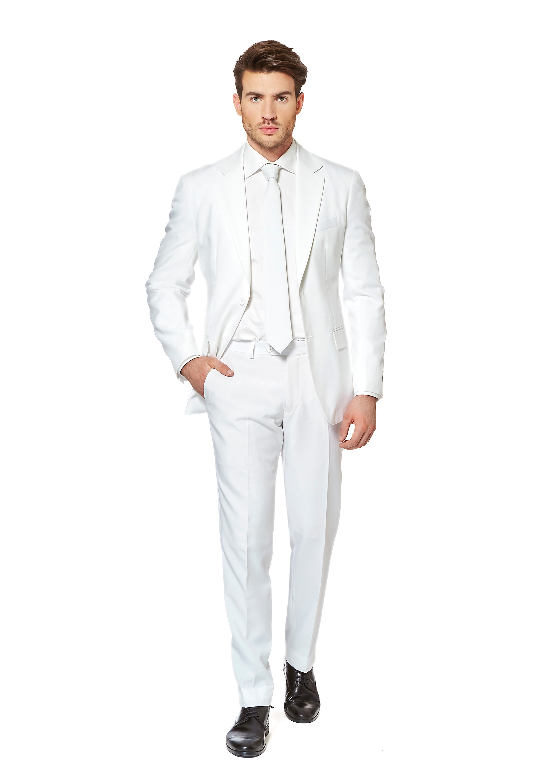 OppoSuits White Knight Suit for Men