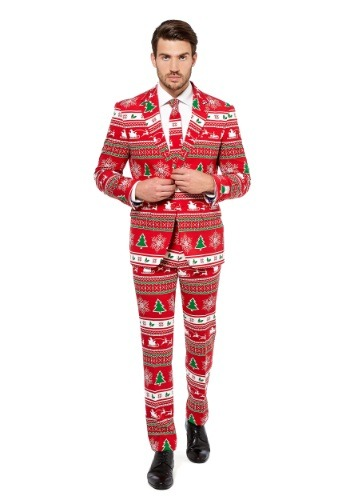Mens OppoSuits Winter Wonderland Suit