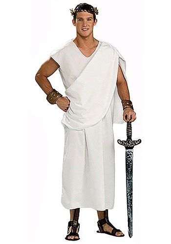 Mens Toga Costume By: Forum Novelties, Inc for the 2015 Costume season.
