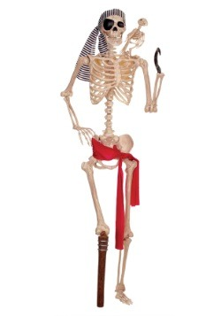 Lifesize Pirate Skeleton
