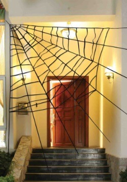 Giant Spiderweb Decoration