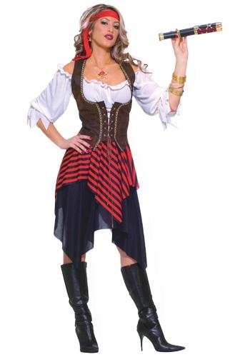 Sweet Buccaneer Costume for Women