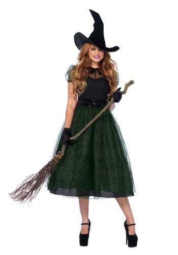 Click Here to buy Darling Spellcaster Witch Costume from HalloweenCostumes, CDN Funds