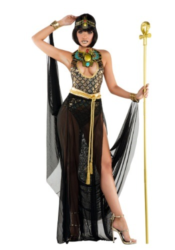 Click Here to buy Womens Sexy Cleo Costume from HalloweenCostumes, USA Funds & Shipping