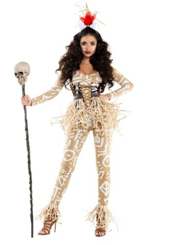 Women's Voodoo Seductress Costume