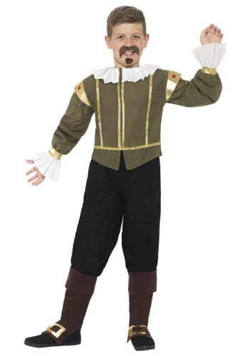 Click Here to buy Kids Shakespeare Costume from HalloweenCostumes, CDN Funds