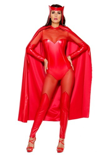 Click Here to buy Womens Fiery Force Costume from HalloweenCostumes, USA Funds & Shipping