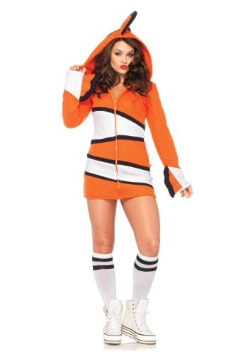 Adult Cozy Clownfish Costume