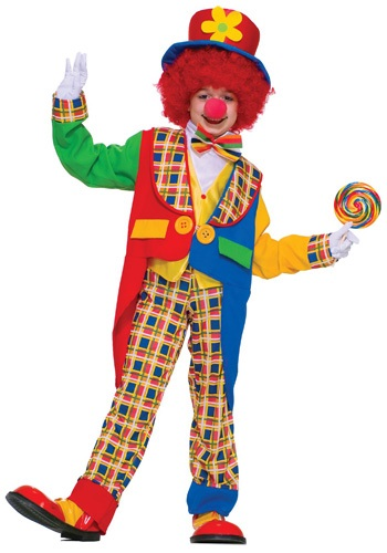 Click Here to buy Kidsrens Clown Costume from HalloweenCostumes, CDN Funds