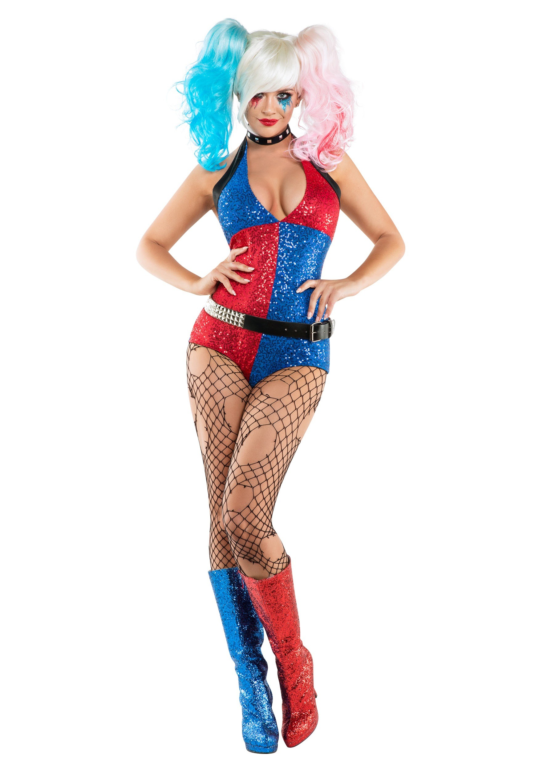 Daddyu0027s Little Monster Costume  sc 1 st  Halloween Costumes & Clown Costumes - Adult Kids Clown Costume for Halloween