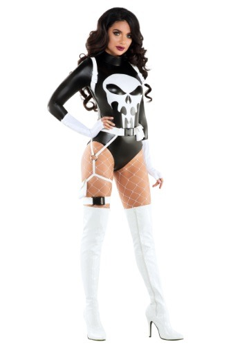 Click Here to buy The Punishing One Costume from HalloweenCostumes, USA Funds & Shipping
