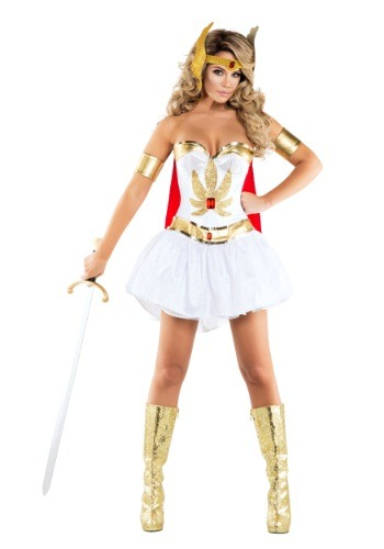 Click Here to buy Sexy Power Princess Costume from HalloweenCostumes, USA Funds & Shipping