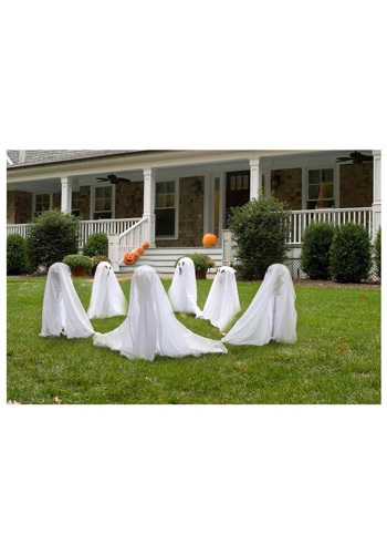 Group of Three Ghost Decorations