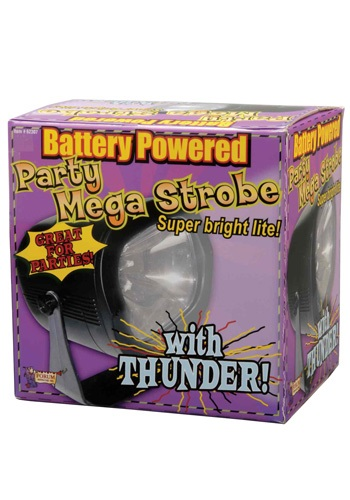 Mega Strobe with Thunder - Strobe Lights, Halloween Party Accessories By: Forum Novelties, Inc for the 2015 Costume season.