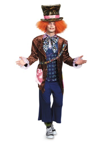 Click Here to buy Adult Deluxe Mad Hatter Costume from HalloweenCostumes, USA Funds & Shipping