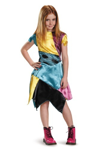 Click Here to buy Girls Sally Costume from HalloweenCostumes, USA Funds & Shipping