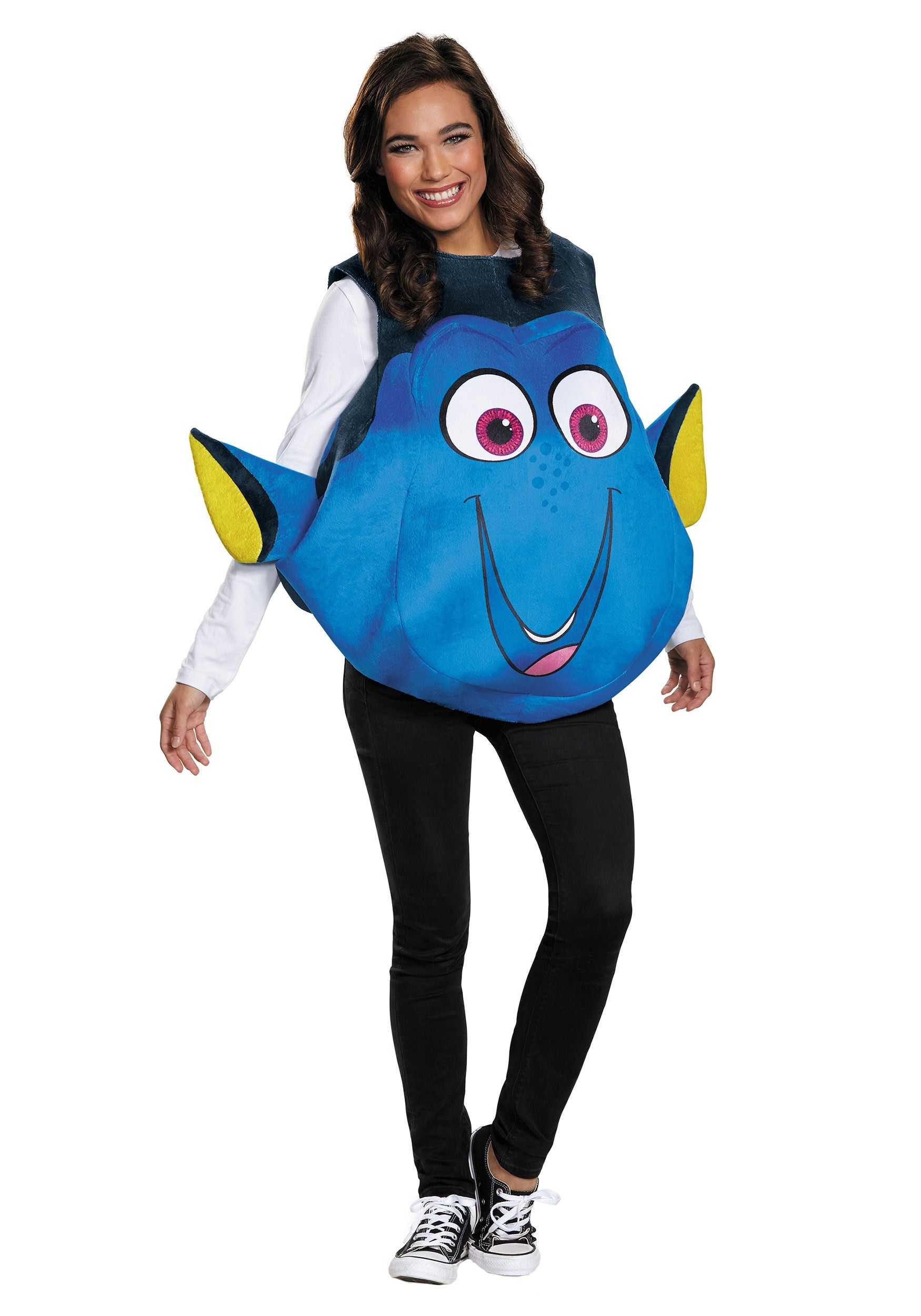 Dory adult fish costume for Sexy fish costume