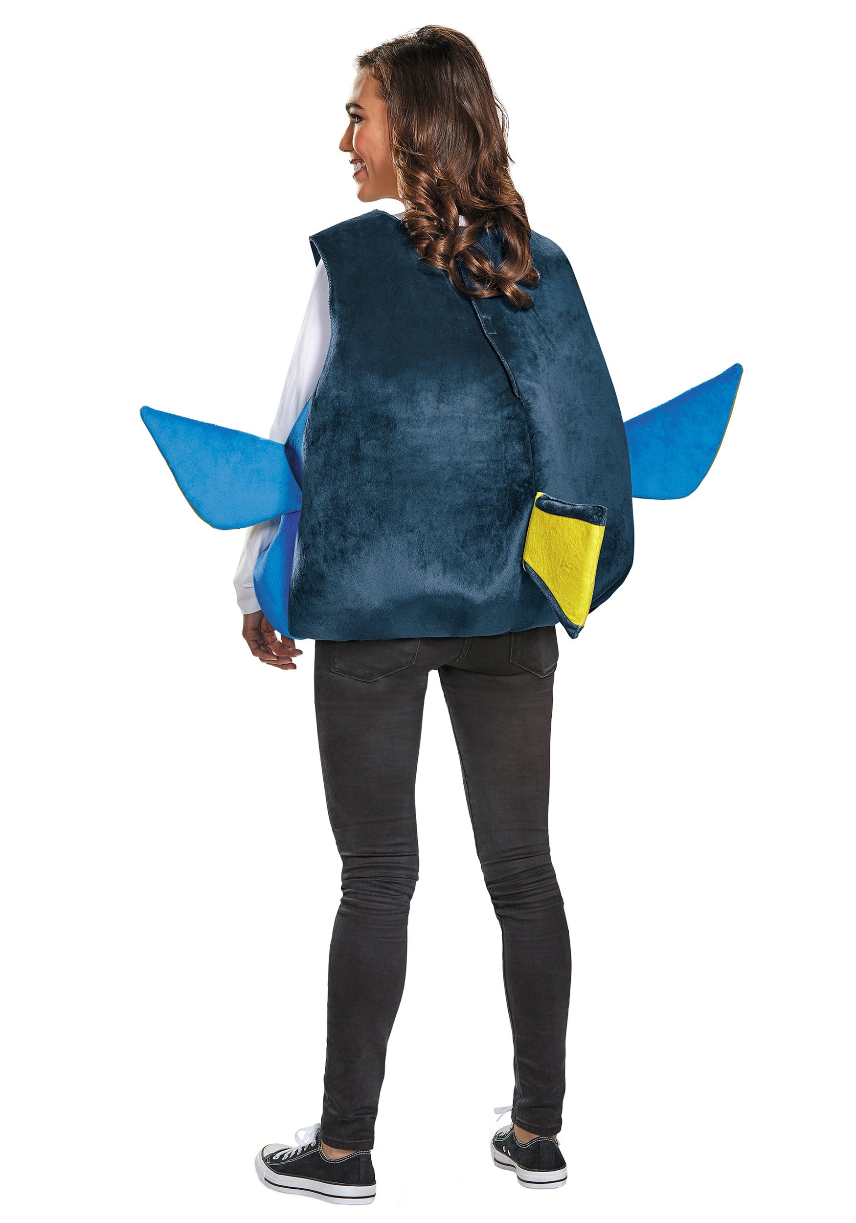 Dory adult fish costume for Fish costume adult