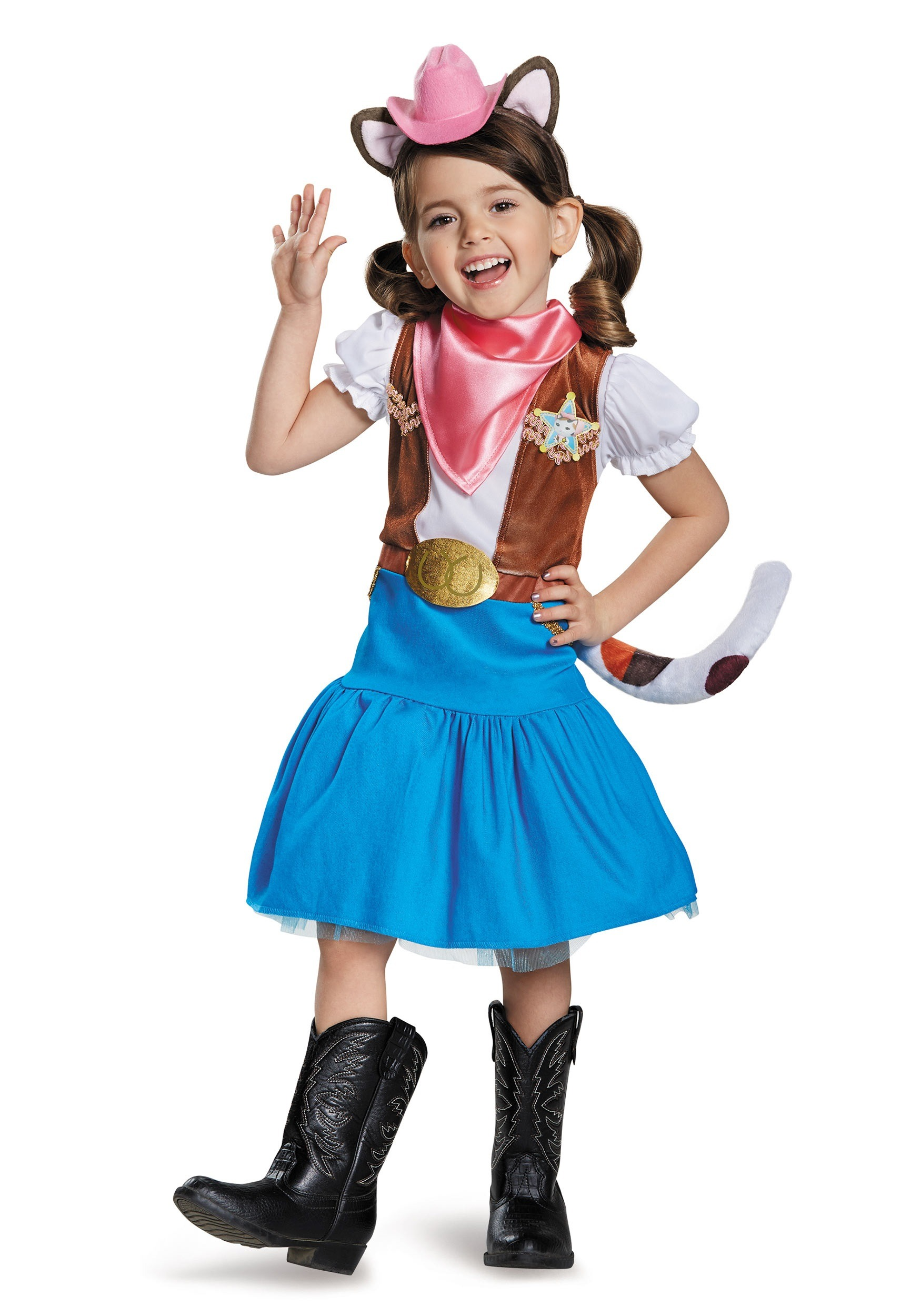 Results 181 240 of 644 for indoor halloween decorations - Sheriff Callie Classic Girls Costume