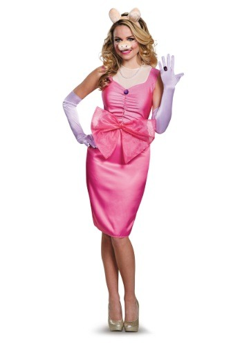 Click Here to buy Miss Piggy Adult Costume from HalloweenCostumes, USA Funds & Shipping