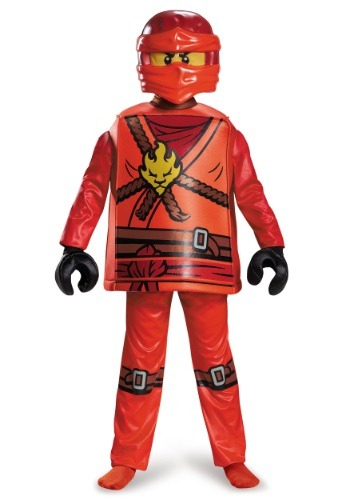 Click Here to buy Deluxe Ninjago Kai Boys Costume from HalloweenCostumes, USA Funds & Shipping