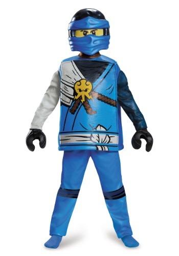 Deluxe Ninjago Jay Boys Costume